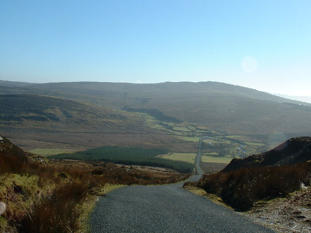 South side of Mamore Gap, Inishowen