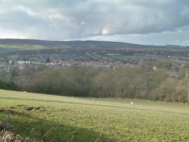 View from Mickley Lane.