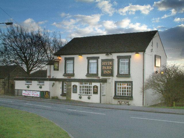 The Hyde Park inn.