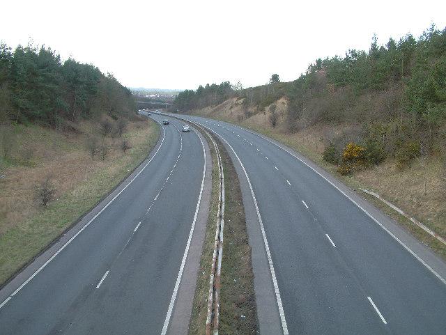 Dronfield bypass.