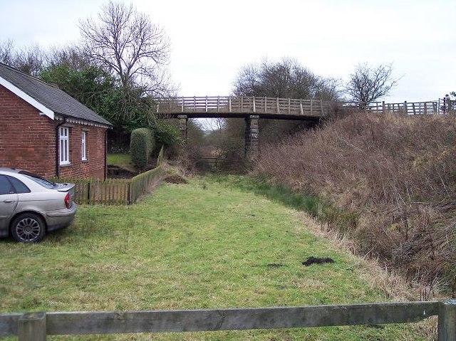 Disused station at Brinkburn near Rothbury, Northumberland