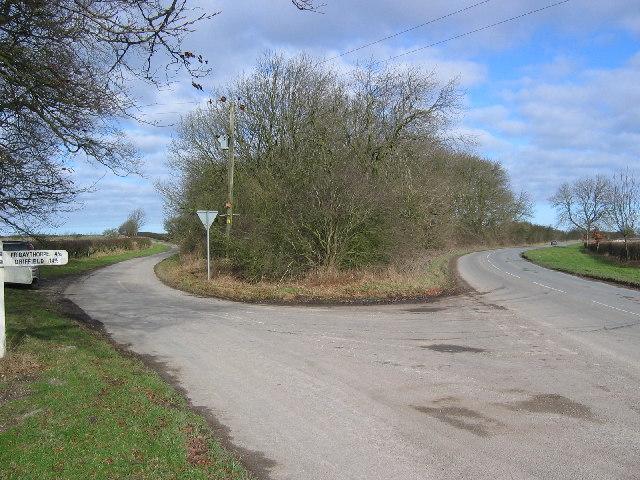 Road Junction at SE832551