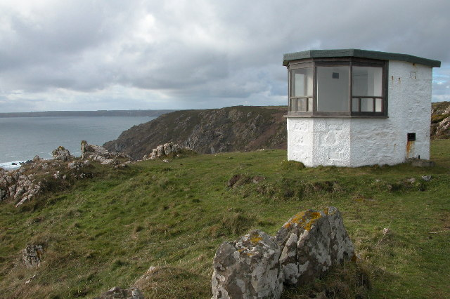 Coast Guard lookout post at Black Head