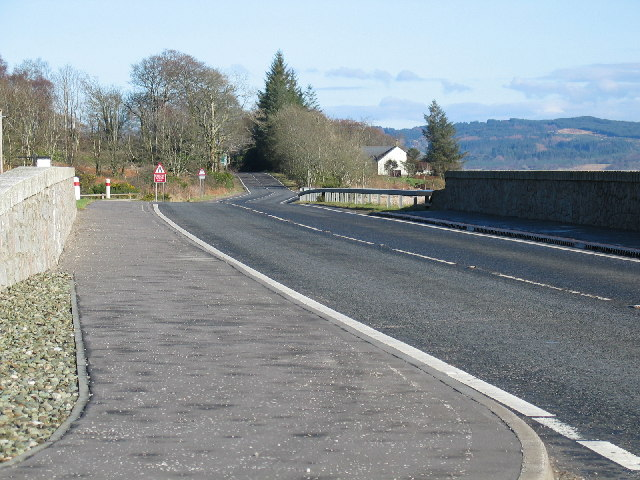 New bridge on the A83 at Inverneill.