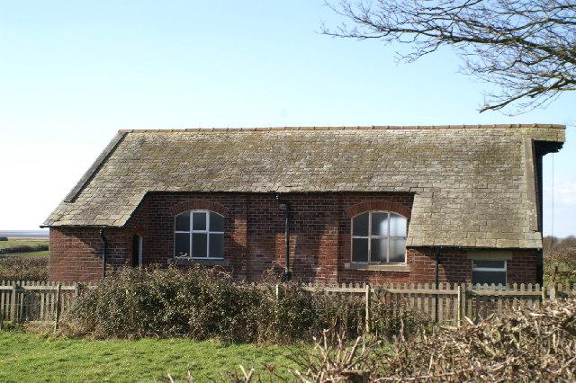 Overton Parish's Mission Church, Sunderland Point