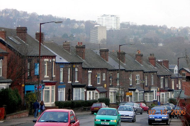 Ecclesall Road South in Sheffield