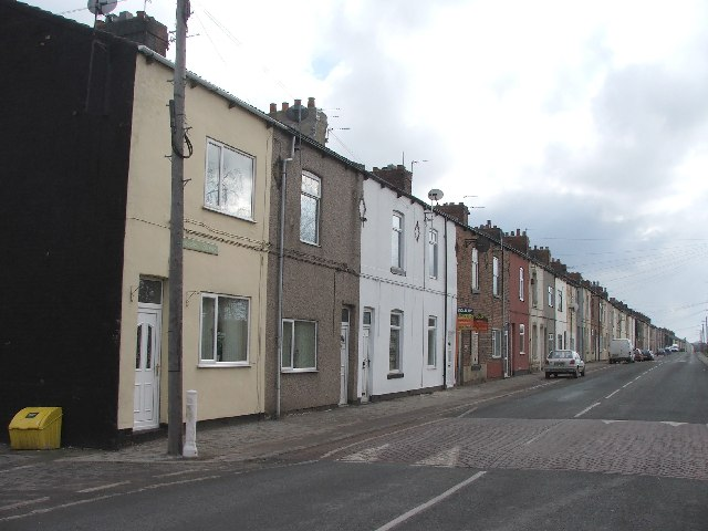 Crossley Street, New Sharlston.