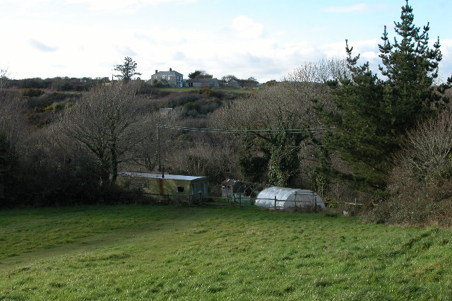 Goonvean Farm to the north of Kennack Sands