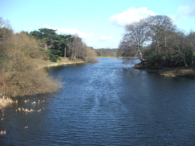 Nostell Priory middle lake.