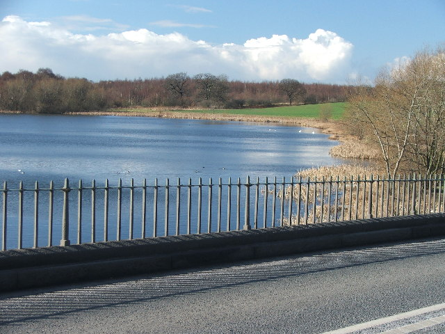 Nostell Priory upper lake.