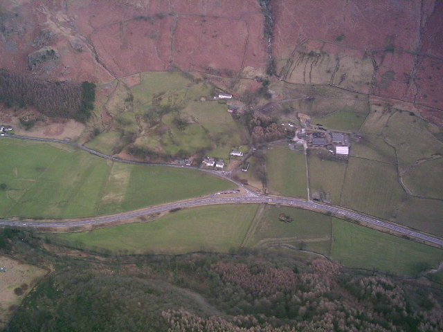 A591 at Sty Beck Fall