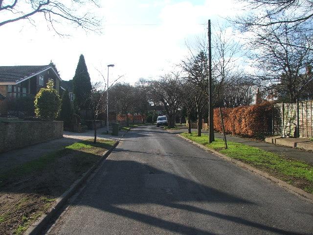Woodthorpe Park Drive.