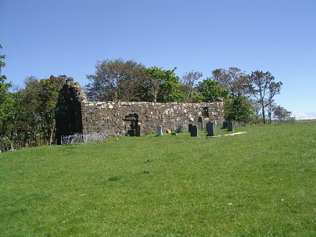 Ruined chapel of Kildonnan