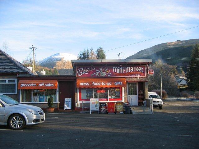 Village shop, Tyndrum