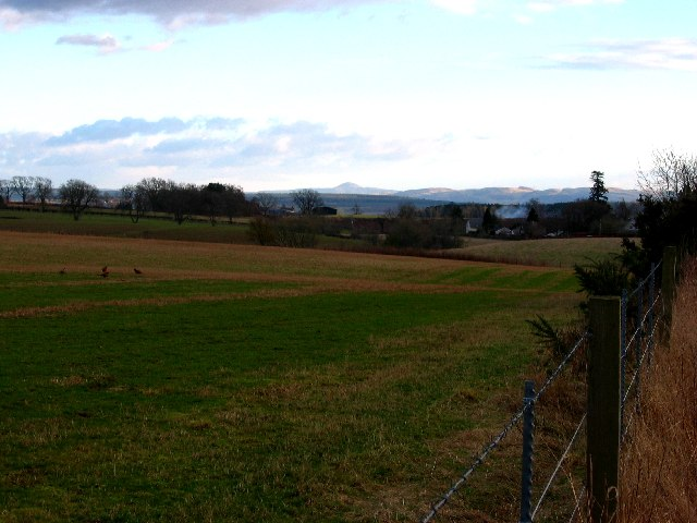 Perthshire farmland