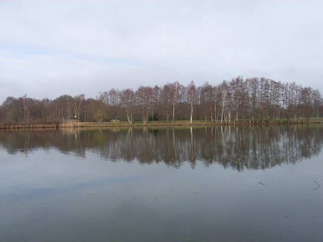 Lake near Moulsham Green, Yateley