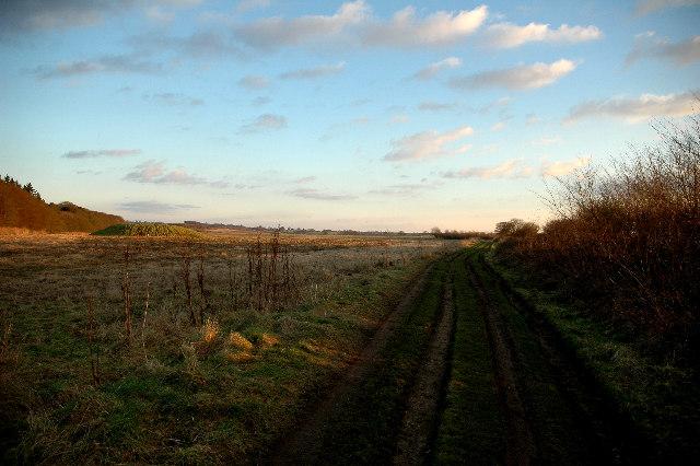 Peddars Way ( Roman road) and Tumulus