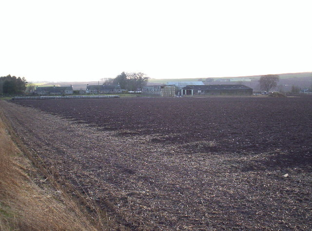 Mains of Balgavies and Ploughed Field