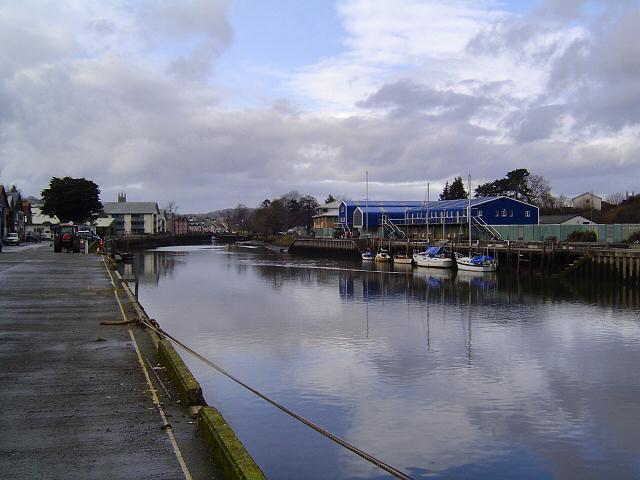 The riverside at Totnes