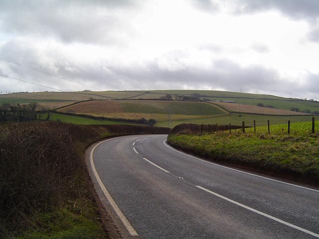 The A381 near Washbourne