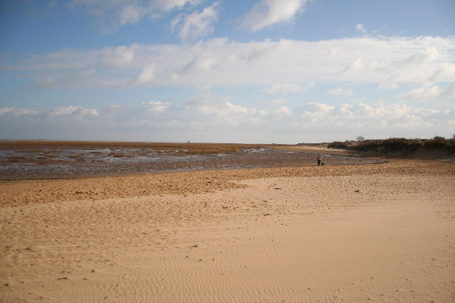 Mud flats & dunes