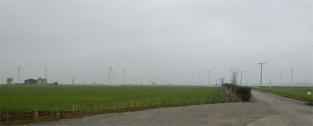 Don Quixote's Dream - Wind Turbines