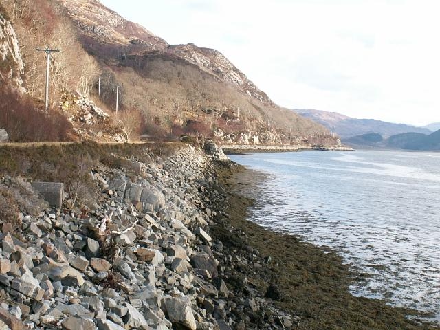 The north shore of Loch Moidart