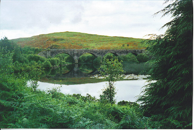 Stroan Loch and Viaduct.