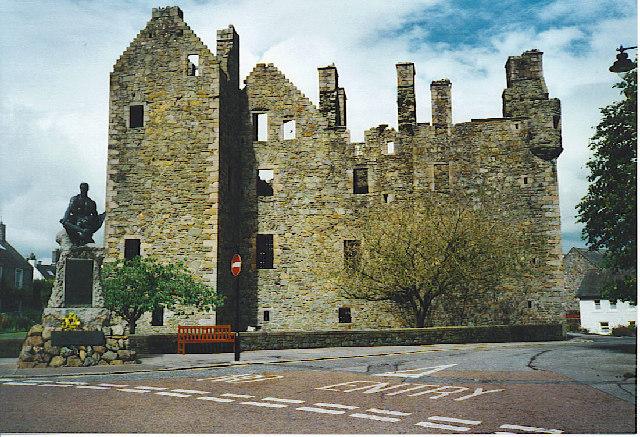 McLellan's Castle, Kirkcudbright.