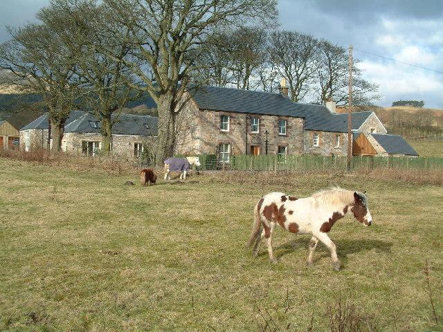 Wester Pitgober farm