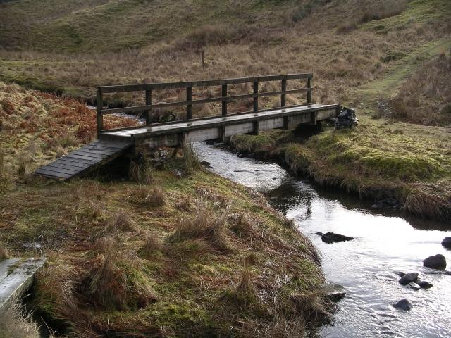 Footbridge, Southern Upland way
