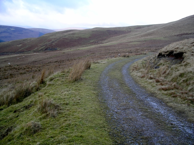 Southern Upland way, near Earl's Hill