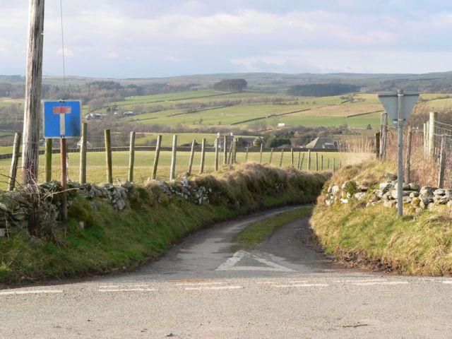 No through Road, near Rhydlydan, Pentrefoelas.
