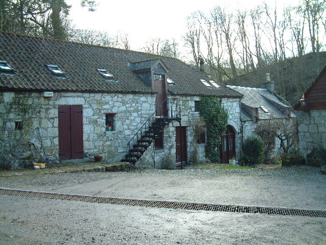 Cottages at Muckhart Mill