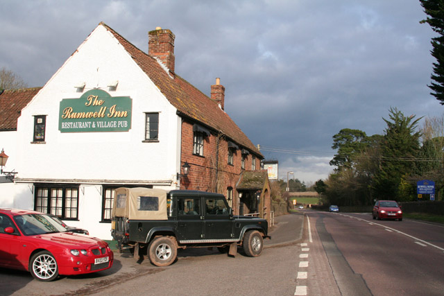 Rumwell, near Taunton: The Rumwell Inn