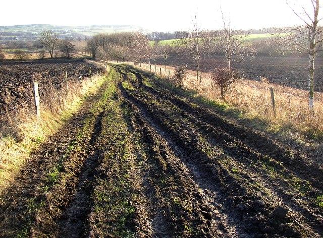 Rutted track, Hartshead, Yorkshire