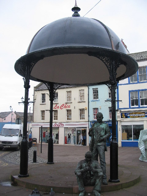 Bandstand at the Market Place, Whitehaven