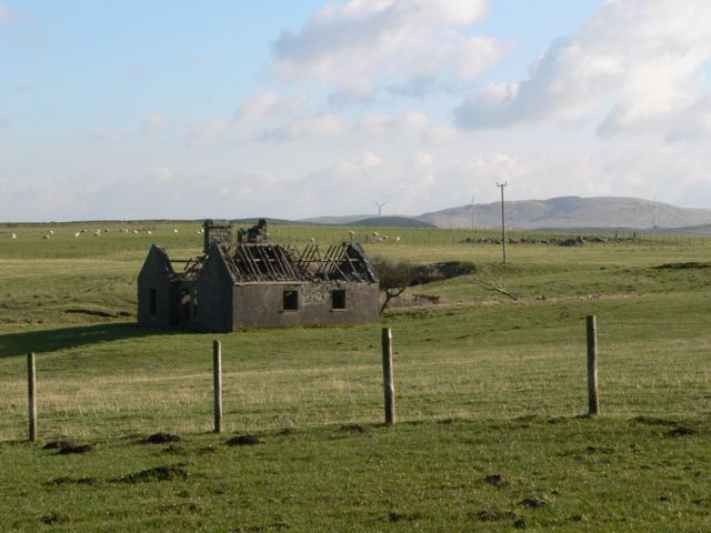 A Ruin called the Lodge, near Cerrigydrudion