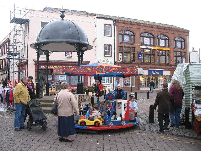 Market Place. Whitehaven