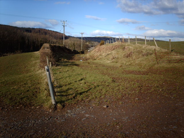 Site Of Shielhill Glen railway