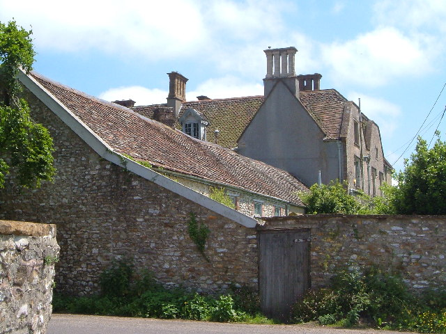 Buckland St Mary, the old Rectory