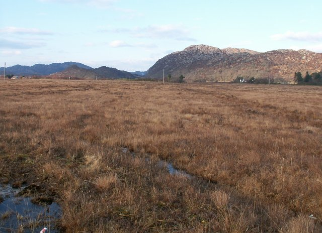 Kentra Moss from near Meal Buidhe
