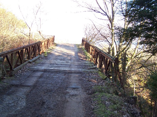 Bridge over Blairmore burn