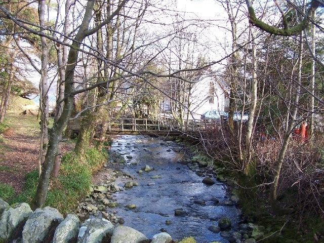 Bridge at Gairletter point