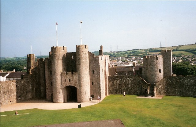 Pembroke Castle Gatehouse