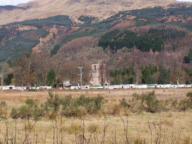Glenfinart caravan site