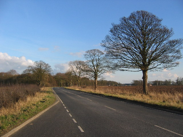 Layby on the A1079
