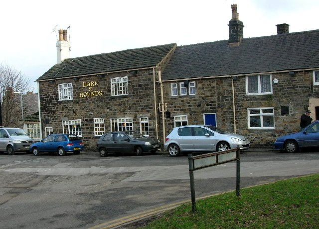 Hare & Hounds at Dore, Nr Sheffield