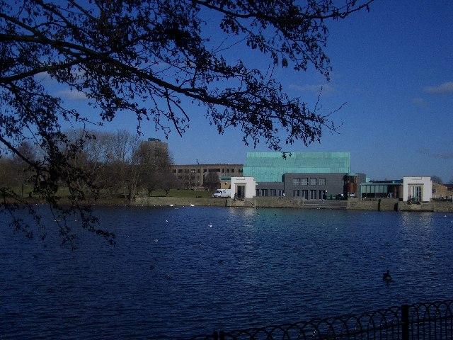 East End of Lake on Nottingham University Campus