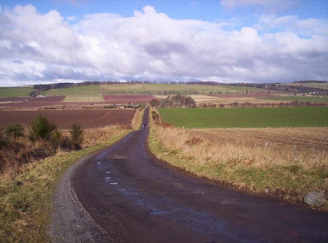 Road to Milton of Balhall